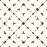 Seamless  pattern of sun shape and line. Endless Royalty Free Stock Photos