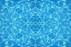 Seamless pattern of sunlight pattern in the pool Stock Images