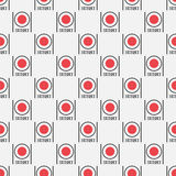 Seamless pattern from sushi Stock Photos