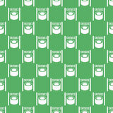 Seamless pattern from sushi Royalty Free Stock Photo