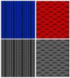 Seamless pattern of sweater fabric Royalty Free Stock Photo