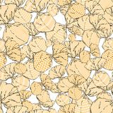 Seamless monochrome pattern of wrapped chocolates over white background. Vector illustration vector illustration