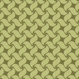 Seamless pattern swirl leaves Stock Photos