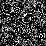 Seamless pattern - swirls Royalty Free Stock Photography