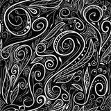 Seamless pattern - swirls vector illustration