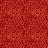 Seamless pattern with swirls Stock Photo