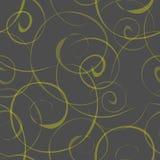 Seamless pattern with swirls Royalty Free Stock Photo