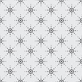 Seamless pattern of symbolic stars. Illustration of seamless pattern of symbolic stars on a gray background Royalty Free Stock Photography