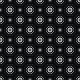 Seamless pattern of symbolic stars Royalty Free Stock Photo