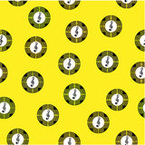 Seamless pattern with symbols of different colors. In the shape of circles Stock Photo