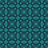Seamless pattern with symmetric geometric ornament. Bright abstract background. Bright ethnic abstract background. Seamless pattern with oriental, old ornament Stock Photography