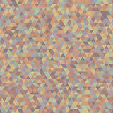 Seamless Pattern of Symmetric Triangles for Covers, Templates, W Royalty Free Stock Photo