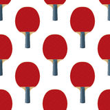 Seamless Pattern Table Tennis Rackets Vector Stock Photos