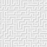 Seamless pattern. Tangled maze. Abstract background. Stock Photos