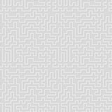 Seamless pattern. Tangled maze. Abstract background. Royalty Free Stock Photo
