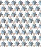 Seamless pattern in the technological style. Clear geometric shapes. Orderly background. Stock Photography