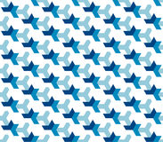 Seamless pattern in the technological style. Clear geometric shapes. Orderly background. Royalty Free Stock Images