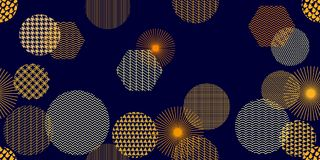 Abstract background with colorful geometric shapes. Seamless  pattern for textile design, cards and web design Royalty Free Stock Images