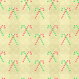 Seamless Pattern Texture. Seamless texture background with Candy Cane for Christmas and other celebrations Royalty Free Stock Photo