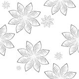 Seamless pattern texture flowers Royalty Free Stock Photos