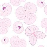 Seamless pattern texture flowers Stock Photos