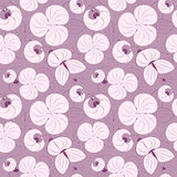 Seamless pattern texture flowers Royalty Free Stock Image