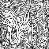 Seamless pattern texture hand drawn painted wooden black vector.  Stock Image