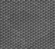 Seamless pattern with texture of metal Stock Image