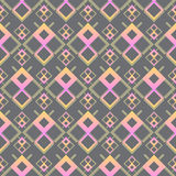Seamless pattern. Texture of pastel wavy diagonal stripes. Stylish abstract background Royalty Free Stock Image