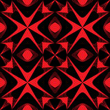 Seamless pattern texture. Red modern structure Stock Image