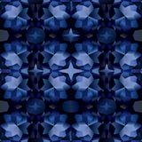 Seamless pattern with texture of sapphire Royalty Free Stock Images