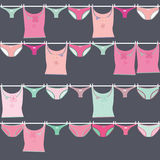 Seamless pattern texture underwear Royalty Free Stock Photo