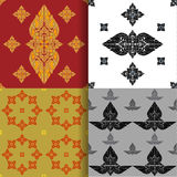 Seamless pattern of thai art Stock Images