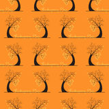Seamless pattern of thanksgiving day Stock Image