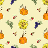 Seamless pattern Thanksgiving Royalty Free Stock Images