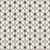 Seamless pattern. Thin wavy lines, delicate lattice. Royalty Free Stock Photo