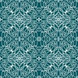 Seamless pattern tiffany Royalty Free Stock Image