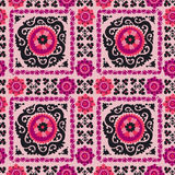 Seamless pattern of traditional asian carpet Stock Images