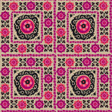 Seamless pattern of traditional asian carpet Stock Image