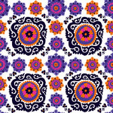Seamless pattern of traditional asian carpet Royalty Free Stock Photo