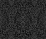 Seamless pattern with traditional ornament Royalty Free Stock Photo