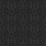 Seamless pattern with traditional ornament Royalty Free Stock Photos