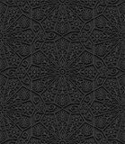 Seamless pattern with traditional ornament Royalty Free Stock Images