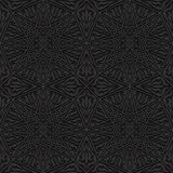Seamless pattern with traditional ornament. Vector illustration Stock Image