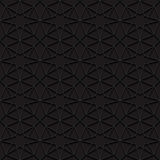 Seamless pattern with traditional ornament. Vector illustration Royalty Free Stock Photography