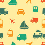 Seamless pattern - travel Royalty Free Stock Photo