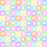 Seamless pattern with trefoil Royalty Free Stock Photos