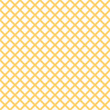 Seamless pattern with trendy stylish cell Gingham in summer yellow colors Royalty Free Stock Photography