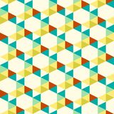 Seamless pattern of triangle Royalty Free Stock Photo