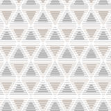 Seamless pattern triangle retro Royalty Free Stock Photos